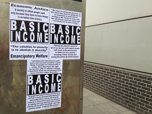 UNCONDITIONAL BASIC INCOME | by Mister Higgs