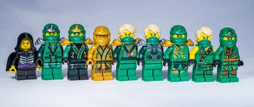 Lego ninjago lloyd minifigures unitl 2015 lego ninjago al flickr - Ninja vert lego ...