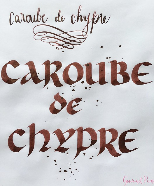 Ink Shot Review J. Herbin 1670 Caroube de Chypre @BureauDirect3720_WM