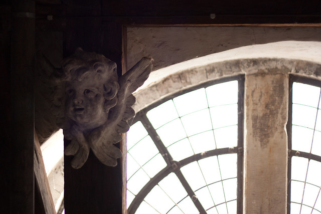 Aging Angel in the Clocktower