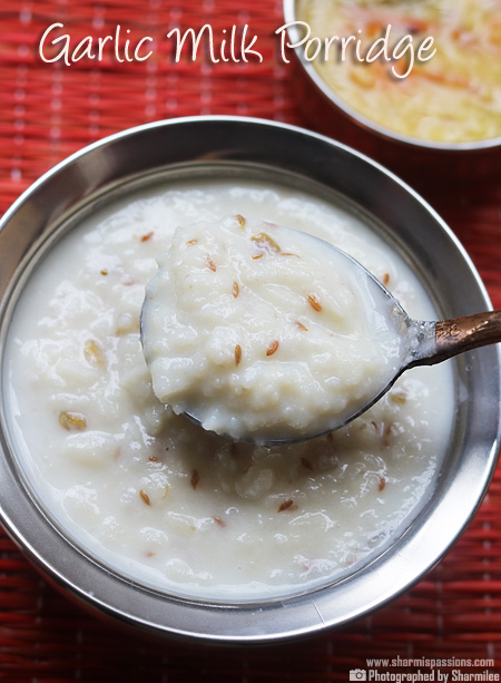 Garlic Milk Porridge Recipe
