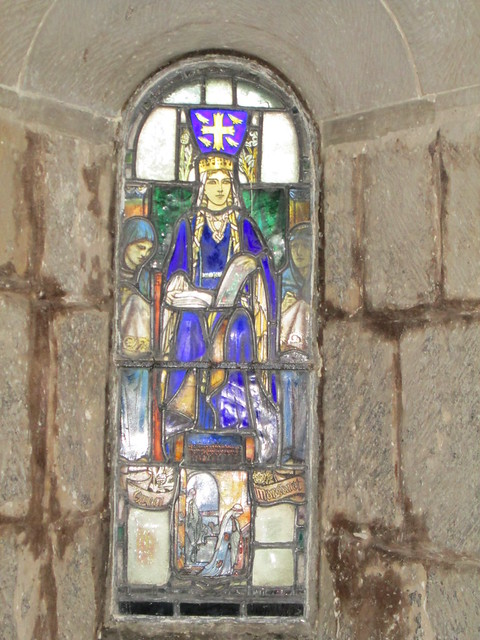 Edinburgh Castle St Margarets Chapel Stained Glass Window 2