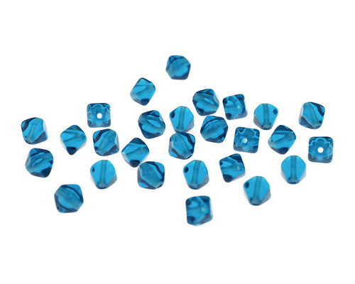 Aqua Glass Beads For Wedding Centerpieces