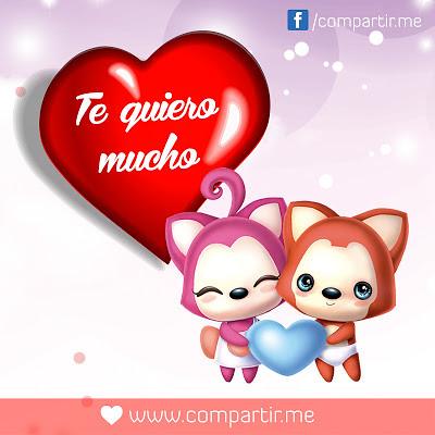 Frases De Amor Corazon De Amor Con Frase Te Quiero Mucho Flickr