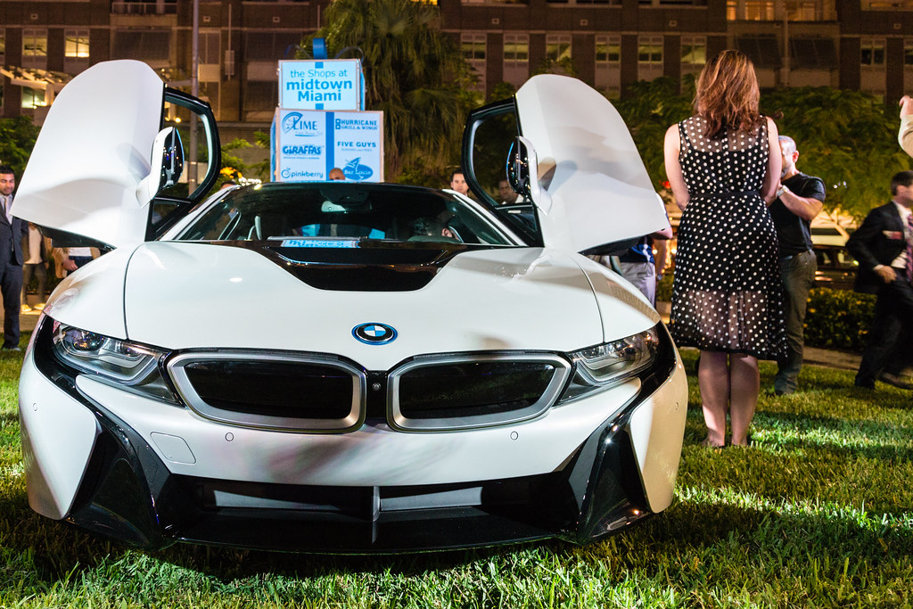 Bmw I8 At Midtown Miami Dmitriy Khaykin Flickr