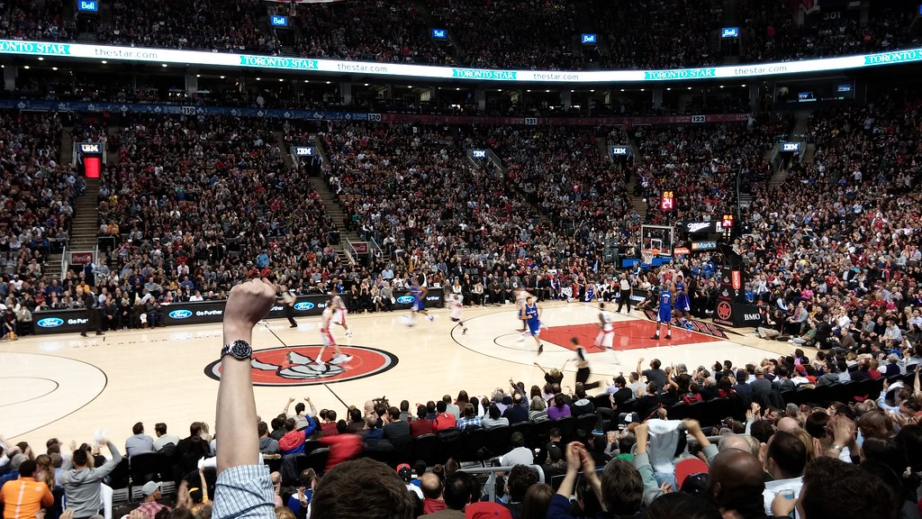 My poor daughter now thinks all basketball games are this exciting #raptors