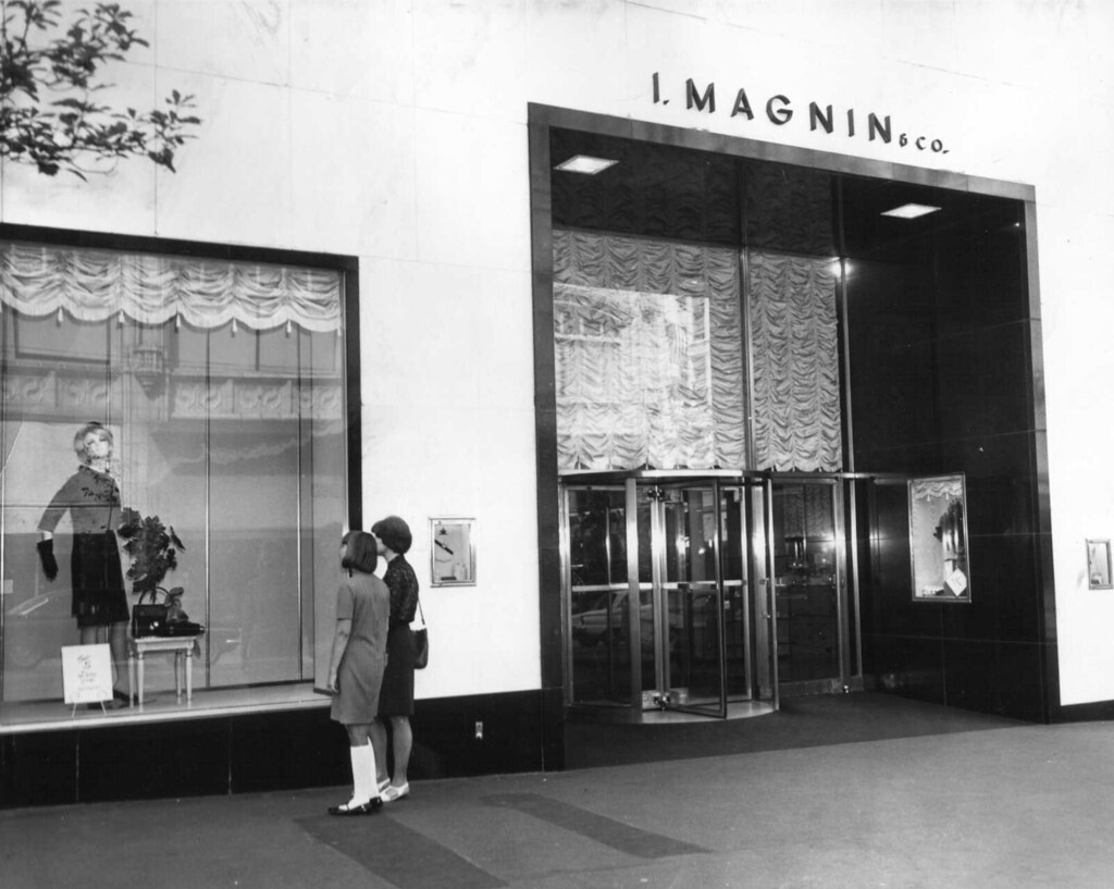 ... I. Magnin U0026 Co San Francisco Based Elegant Specialty Department Store  Like Saks Fifth Avenue