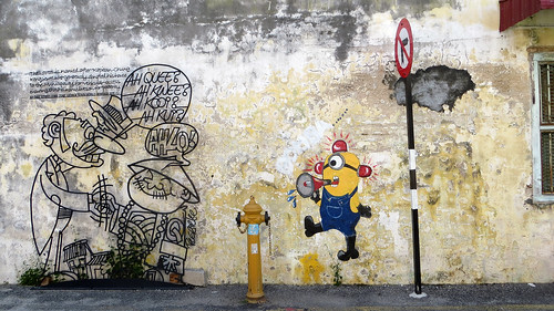 Street art, George Town, Malaysia, Jan 2014 | by Where Is Your Toothbrush?