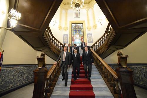 Visita del ministro del interior jorge fern ndez d az a for Web ministerio del interior