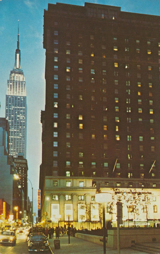 The Statler Hilton - New York, New York