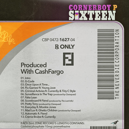Cornerboy P - Sixteen (Back) | by fortyfps