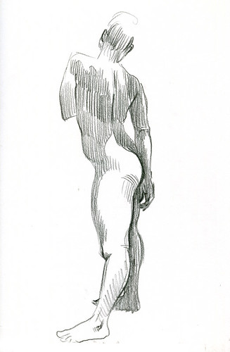 redline life drawing | by paul heaston