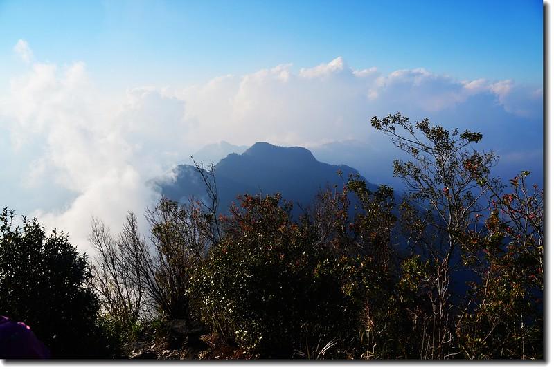 北大武山登山步道3.8K光明頂西眺西大武山