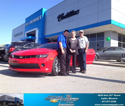 Wilson Cadillac: Congratulations To Larry Turner On Your #Chevrolet #Camaro…