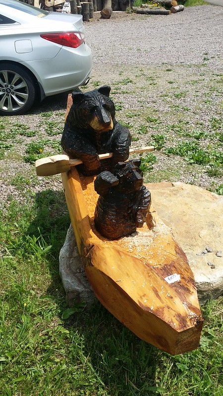 Chainsaw Bear made by Bob on 495 in MD