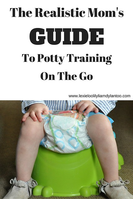 The Realistic Mom's Guide To Potty Training On The Go