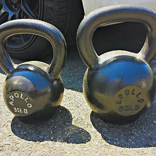 #His and #Hers #Kettlebells. This is #ILoveYou in #Crossfit. | by AntonStetner