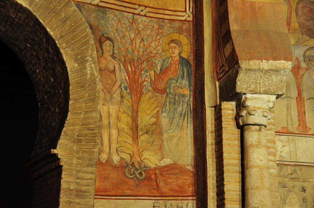 Resultado de imagen de iglesia de san roman toledo pinturas