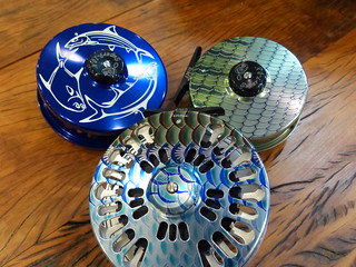 Abel Fish Graphic and Engraved Reels | by Backwater Angler