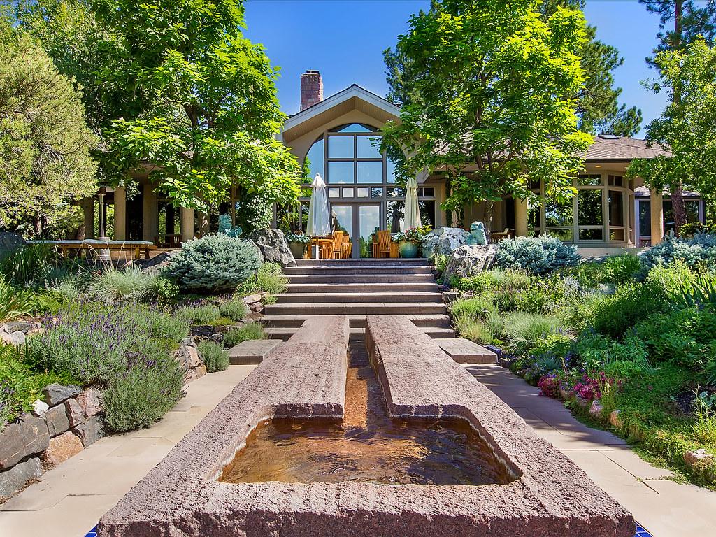 ... ConciergeAuctions Modern Zen Garden Of Eden | Near Denver, Colorado |  By ConciergeAuctions