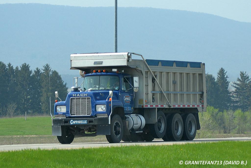 Mack R Model Tri Axle Dump Truck