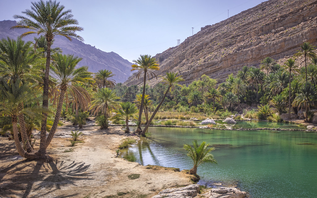 Desert Oasis This Place Is Called Wadi Bani Khalid In Oma Flickr