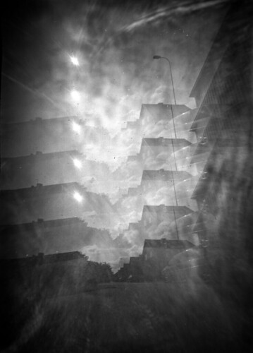 Pinhole experiments: 5 holes, 1 camera | by jojonas~