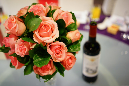 rose & red wine, wedding party, Taipei - Sony A7r | by Luke,Ma