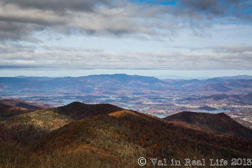 brasstown bald - val in real life