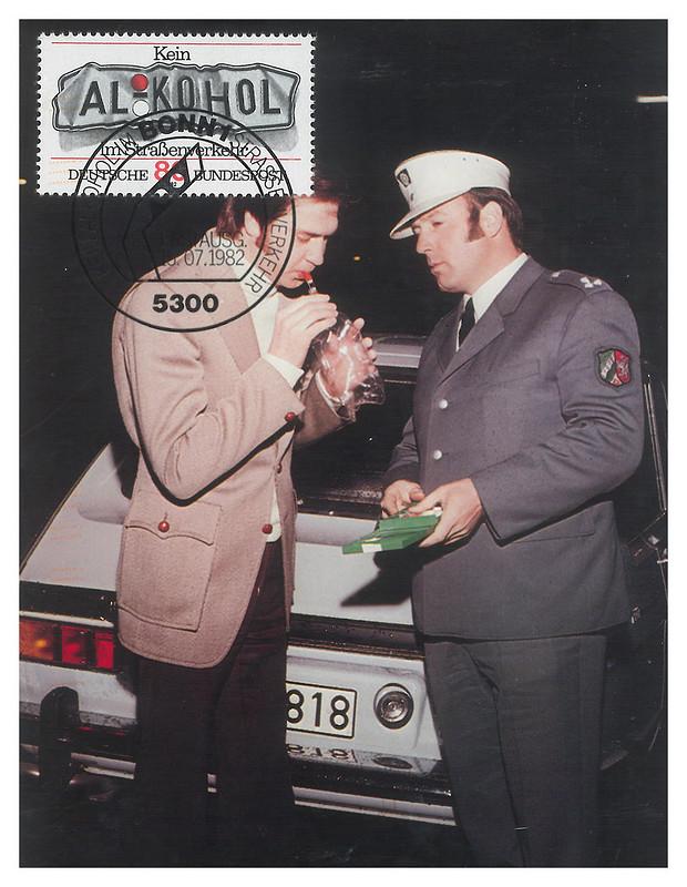 Police - Germany - maxi card - Kein Alkohol - swap - tetsuko