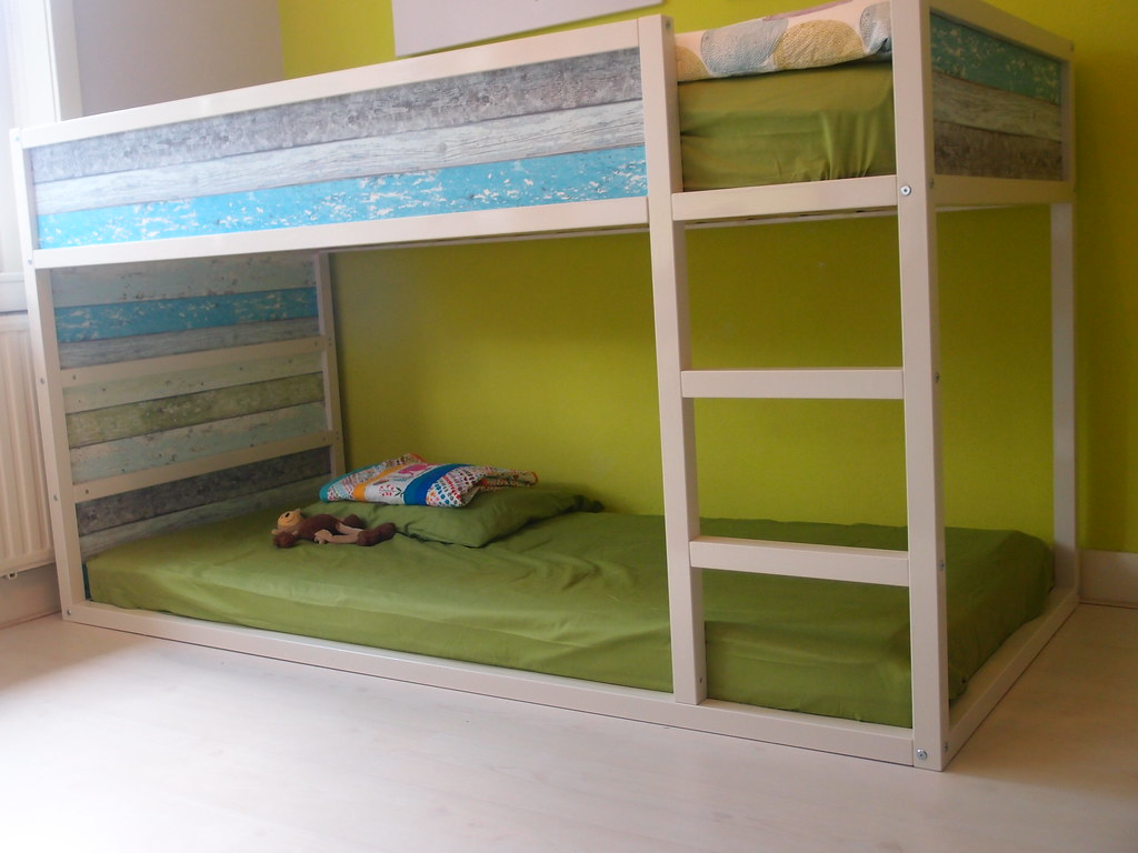 ikea hack kura bed | ikea kura hack, diy bed with scrapwood … | flickr