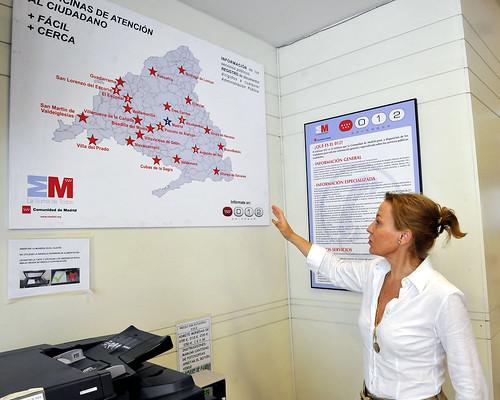 La comunidad incorpora la primera oficina virtual a sus of - Oficina de atencion al ciudadano madrid ...