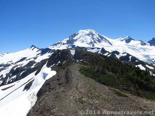 The further reaches of Skyline Divide, Mt. Baker Wilderness, Washington