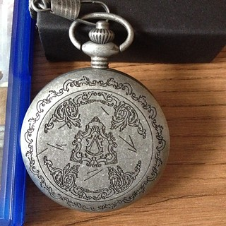 assassin creed pocket watch | by wingedeyes