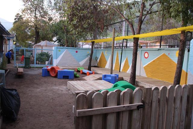 Jardín Infantil Las Azucenas (segunda etapa)| Huechuraba | Banco Falabella