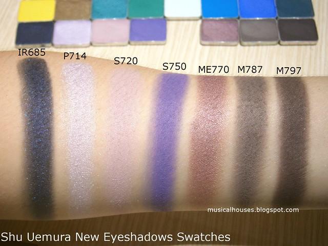 Shu Uemura Eyeshadows Swatch Purple New