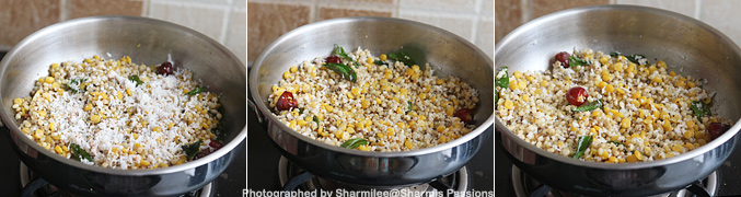 How to make Chola Sundal Recipe - Step6