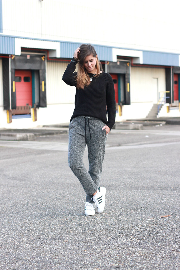 Pants Inspiration Sweat Sweater To Black Out Shout Top You Tweed qOUwCx5O