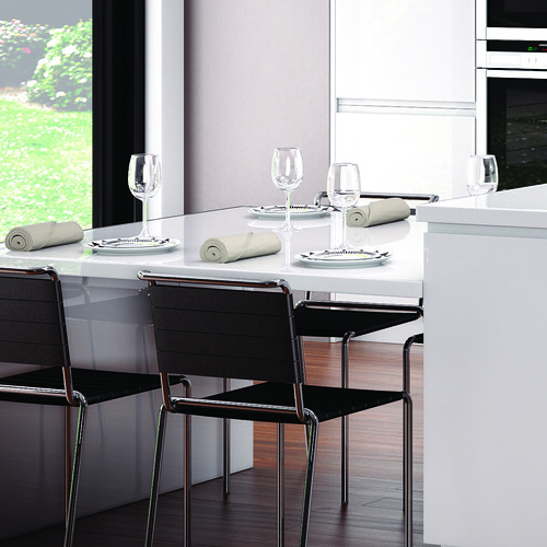 Kitchen Dining Table From The Linear White Range