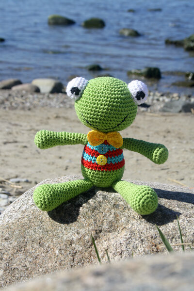 Felix The Frog Free Amigurumi Pattern For Beginners Flickr
