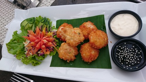 Shrimp Cakes With Chili Lime Cream Sauce