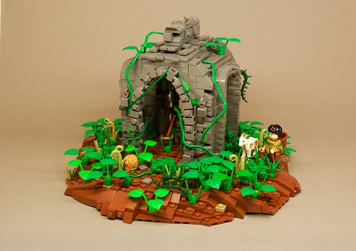 Temple of oxomoco i m back this is my latest build a az flickr - Ile pirate lego ...