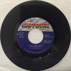 THE JACKSON 5:MAY BE TOMORROW(RECORD SIDE-B)