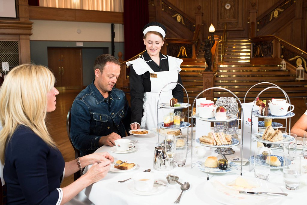 Image result for titanic belfast tea