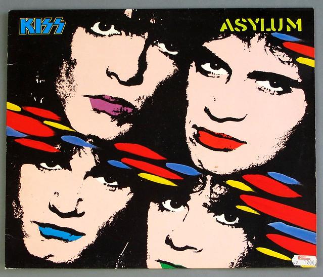 """KISS ASYLUM 12"""" LP VINYL"""