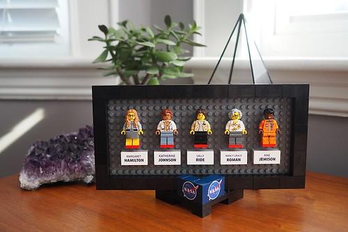 Women of NASA on LEGO Ideas - Desktop Frame