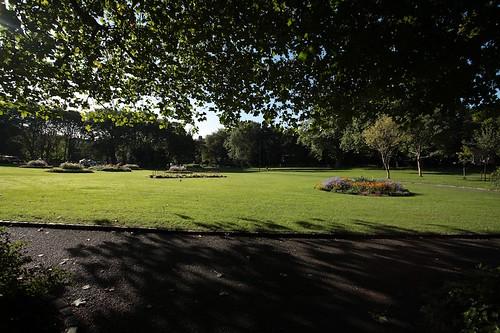 Merrion square: il giardino