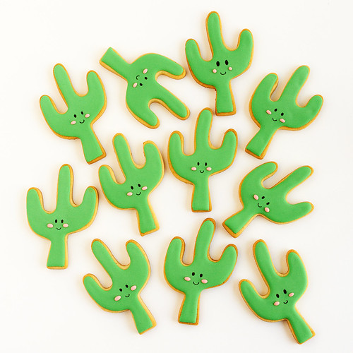 Galletas de cactus | by IFeelCook