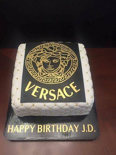 Versace Birthday Cake Cake Lady Wpb Flickr