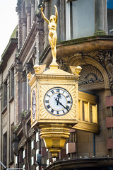 Northern Goldsmiths clock